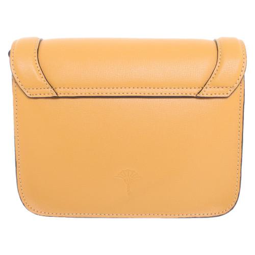 günstig kaufen Straßenpreis tolle Passform JOOP! Umhängetasche aus Leder in Gelb - Second Hand JOOP ...