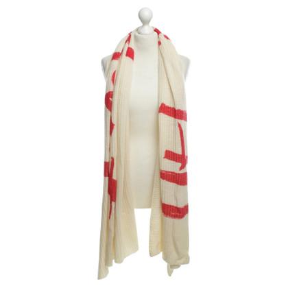 Iheart Cashmere scarf in cream