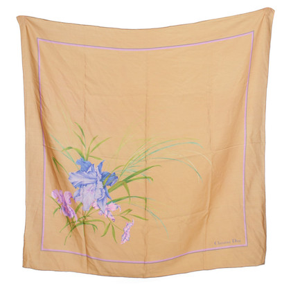 Christian Dior Silk scarf with flower motif