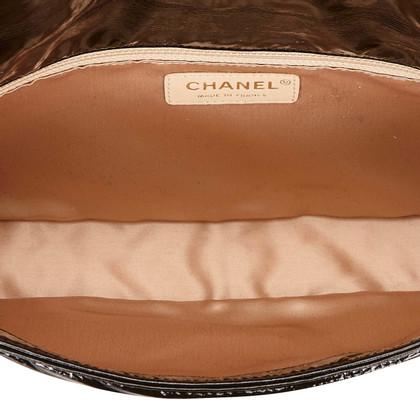 Chanel Chanel Patent Leather Flap Shoulder Bag