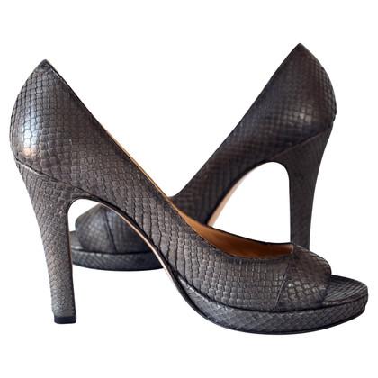 Unützer Snakeskin platform High Heels