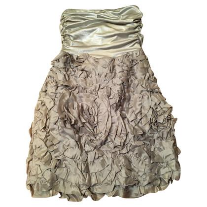Badgley Mischka Graues Minikleid