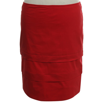 Armani Jeans skirt in red