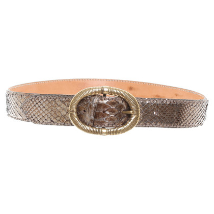 Reptile's House Snake leather belt