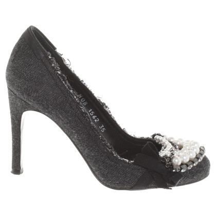 Pedro Garcia pumps in grey