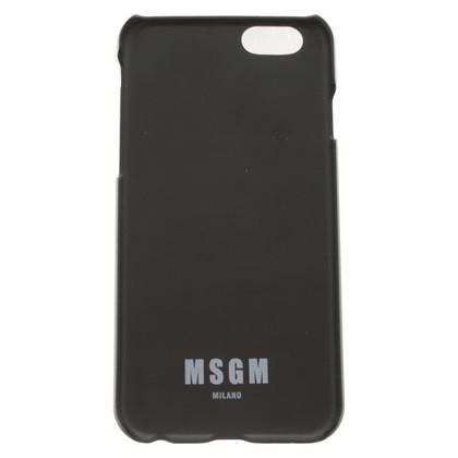 MSGM iPhone case in bicolour