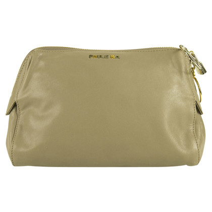 Paule Ka clutch in Taupe