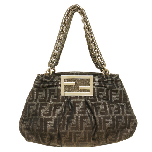 Fendi Mia Bag With Gold Hardware