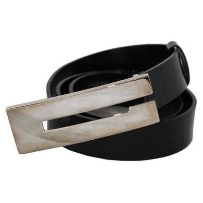 Gucci Patent leather belt