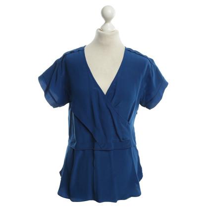 Derek Lam blouse manches en bleu
