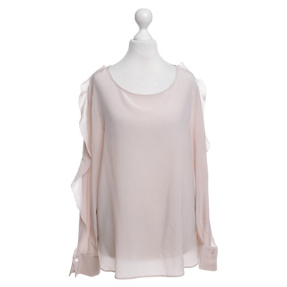 See by Chloé Zijden blouse in nude