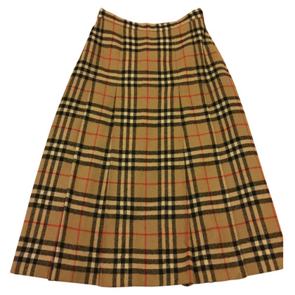 Burberry Midi-wool skirt