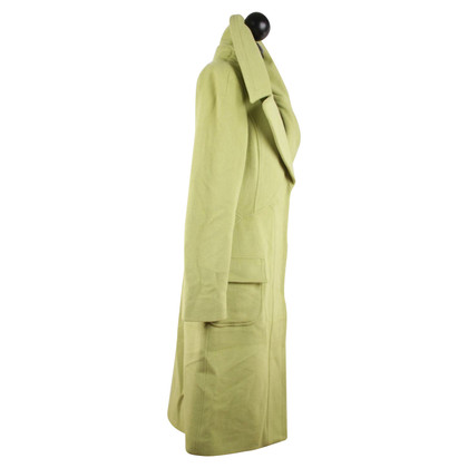 Versace Coat in light green