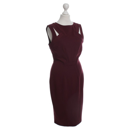 Zac Posen Jurk in Bordeaux