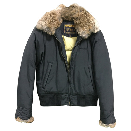 Woolrich Bomber jacket with fur collar