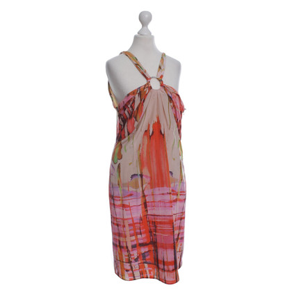 Marc Cain Silk dress with pattern