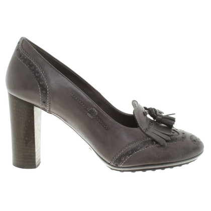 Tod's pumps in gray