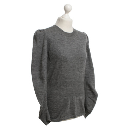 Comme des Garçons Knitted sweater in gray