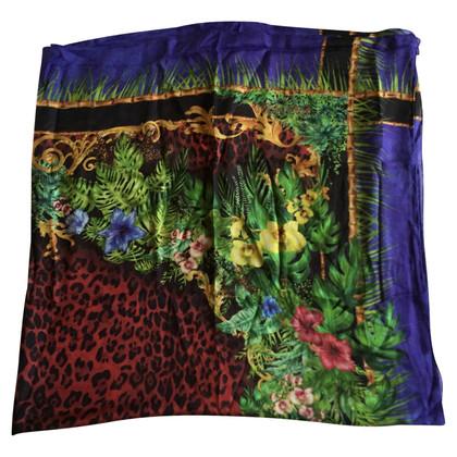 Balmain Foulard Balmain disegnio leopardo
