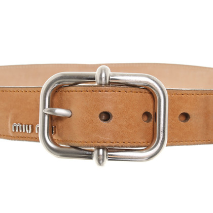 Miu Miu Leather belts
