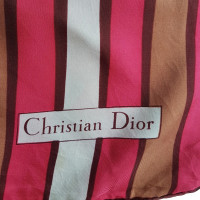 Christian Dior Multicolored silk cloth