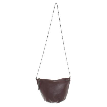 Maje Shoulder bag in Bordeaux
