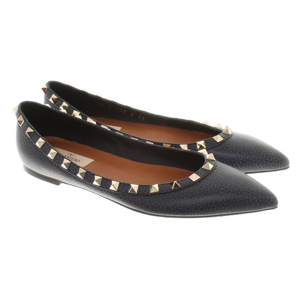 Valentino Ballerinas with rivets