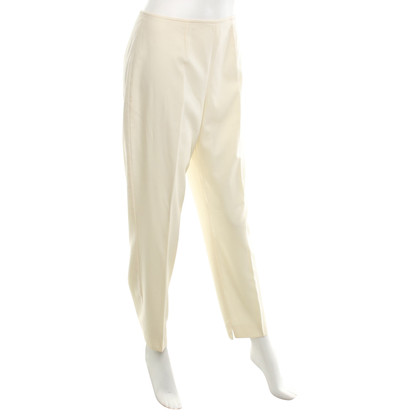 Escada pantaloni capri color crema