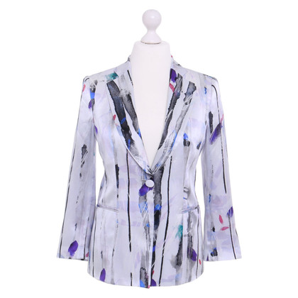 Giorgio Armani Silk Blazer with pattern