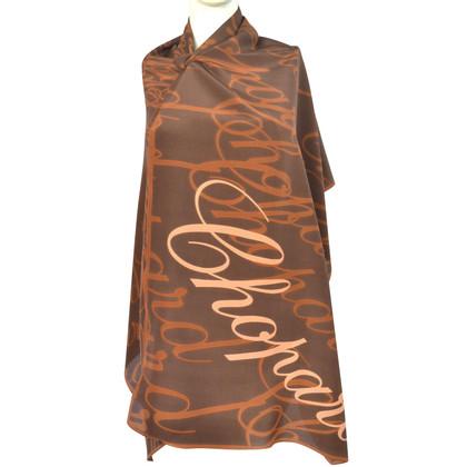 Chopard Zijden sjaal met patroon