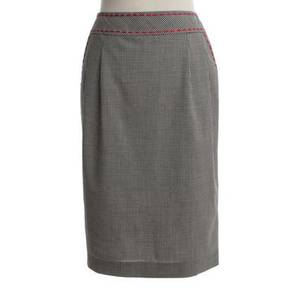 Rena Lange skirt with plaid pattern