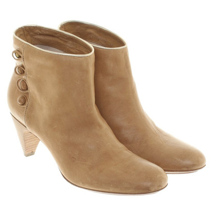 Hugo Boss Stiefeletten in Beige