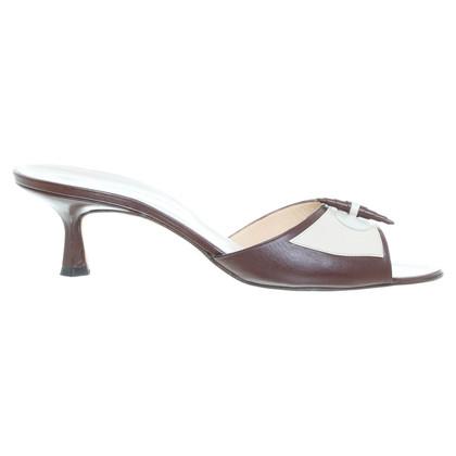 Manolo Blahnik Flat sandal in beige