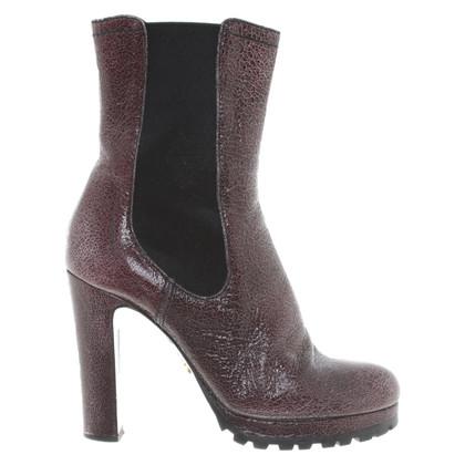 Prada Ankle boots in bi-color