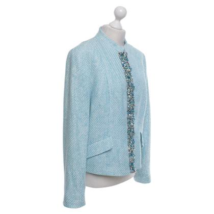 Bogner Blazer in turquoise