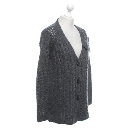 Twin-Set Simona Barbieri Strickjacke in Grau