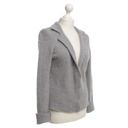 Bloom Strickjacke in Grau