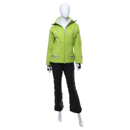 Bogner tuta da sci in calce verde / nero