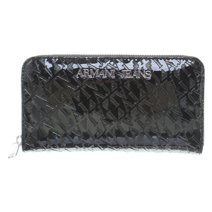 Armani Jeans Wallet of patent leather