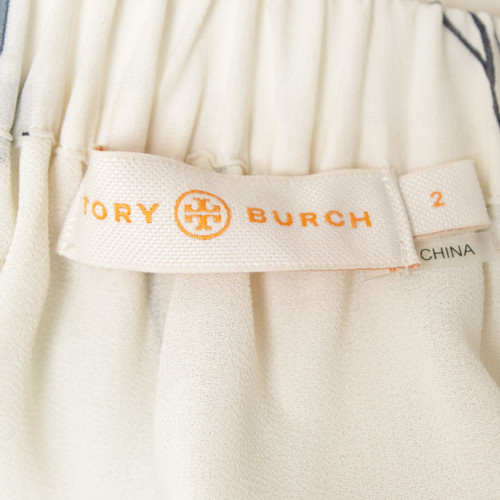 Tory Burch Langer Skirt With Floral Print Second Hand Tory Burch