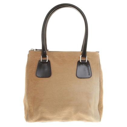 Jil Sander Handbag with fur trim