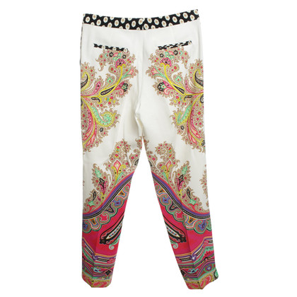 Etro trousers in Multicolor