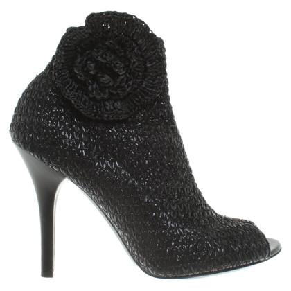 Dolce & Gabbana Enkellaarzen in zwart