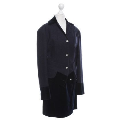 Vivienne Westwood Kostüm aus Wolle/Samt