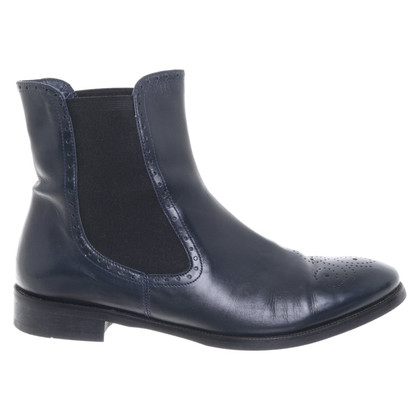 Lela Rose Leather ankle boots