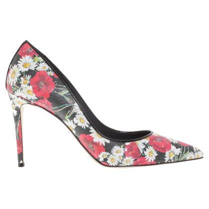 Dolce & Gabbana Pumps mit floralem Print