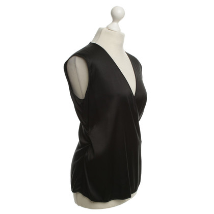 Rena Lange Silk Top Black