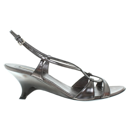 Miu Miu Sandals in Gray