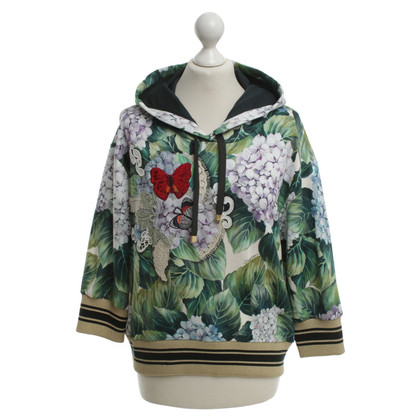 Dolce & Gabbana Hoodie with elaborate motif print