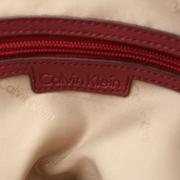Calvin Klein Handbag in Bordeaux